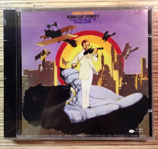 Jean Luc Ponty King Kong cd